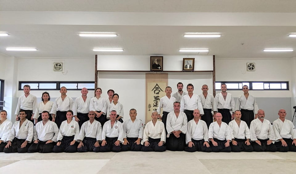 Po treningu w Hombu Dojo