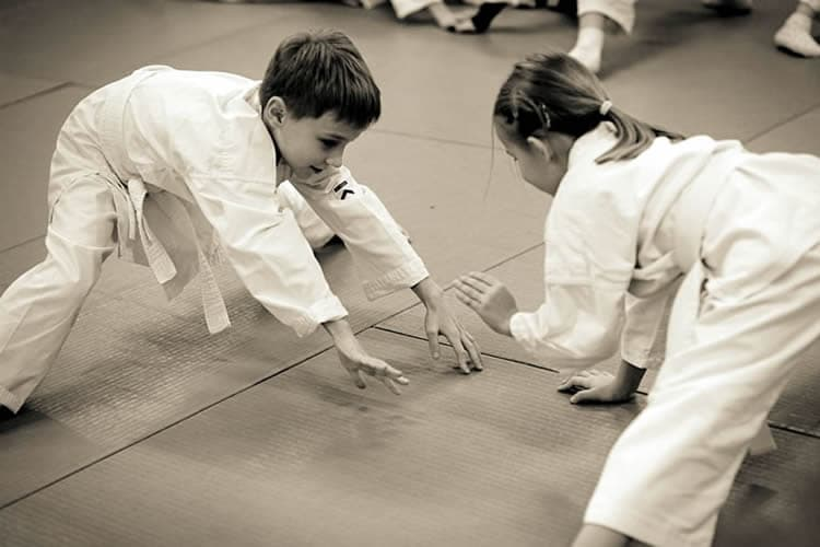 Zapisy na treningi aikido dla dzieci