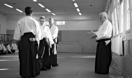 Zdjęcia z seminarium aikido z Sensei Marianem Wiśniewskim