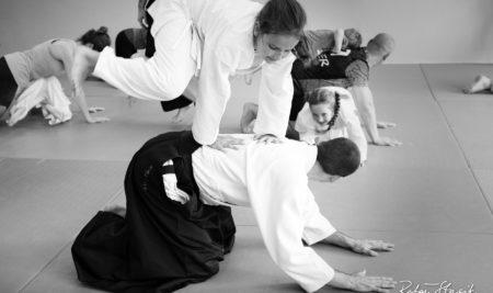 Zdjęcia ze stażu aikido dla dzieci