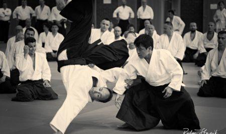 Zdjęcia ze Krajowego Stażu Technicznego z Shihan Hiroyuki Namba (6. dan aikido)