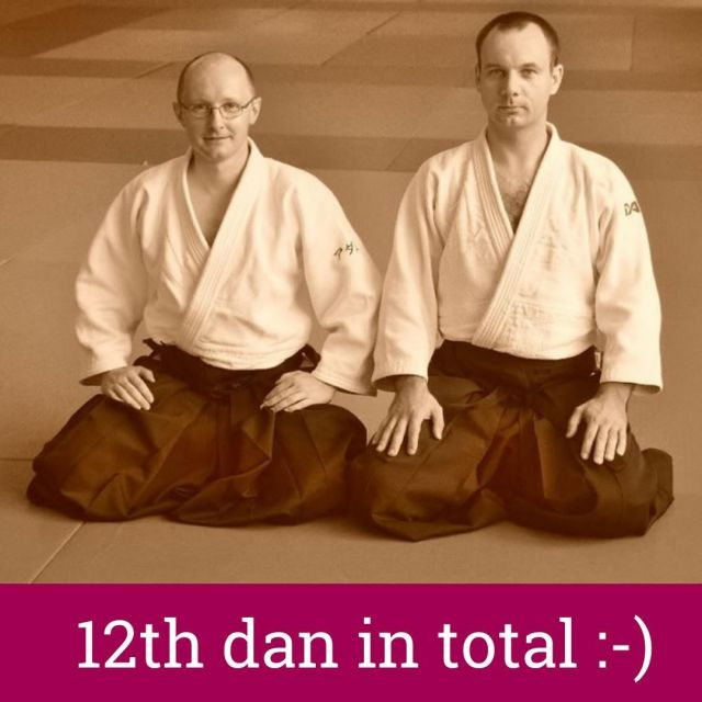 What good news, what good news!  Our aikido teachers, the founders of Shin Dojo Aikido Club - Sensei Wojciech Drąg and Sensei Adam Manikowski, have been promoted to the 6th dan aikido aikikai during today's Kagami Biraki ceremony at Hombu Dojo!!  With all our heart we congratulate such an extraordinary recognition - it's our honor and privilege to study aikido under the eye of such great teachers! As members of Shin Dojo we would like to thank you for all these years spent together on the tatami, the immensity of patience and persistence, an ocean of sweat poured during training, all Aikido Summers Schools, organizing aikido seminars with so many amazing world-class aikido teachers, an infinite portion of knowledge and all thing took place outside tatami!  We keep our fingers crossed and as usually count for more!  Congratulations fly also to the Shin Dojo's friends also graduated this year: - Sensei Bruno Gonzalez (6th dan) - Sensei Paweł Zdunowski (6th dan) - Sensei Roman Widawski (5th dan) - Sensei Janusz Grabowski (5th dan) - Sensei Robert Tłuściak (5th dan)  #neverStopLearning  PS. Only 4 dans left... ;-)