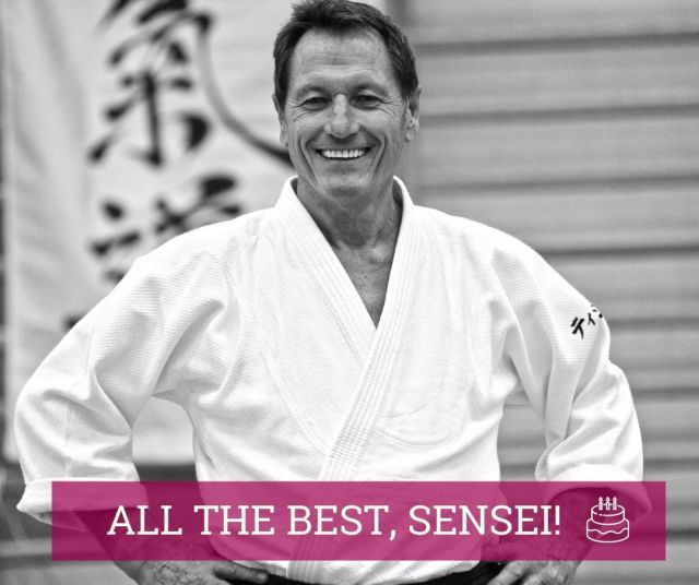 "Here is Sensei, who is the best proof that saying ""aikido tastes the best after 70"" is 100% true because today he celebrates his 70th birthday! :-)  We wish you good moments on tatami, good health, devoted friends, other successes, and let your dreams come true!  All the best, Sensei Tissier! :-)  PS. And see you soon in Poznań!  #shindojo #neverStopLearning #aikido #sensei #shihan #aikiken #aikidodojo #aikidoclass #aikidoseminar #aikidoaikikai #aikidoka  #aikikai #loveaikido #hakama  #aiki #aikido_aikikai #budo #dojo #blackbelt #sztukiwalki #aikidojo #martialarts #fighter #selfdefense #keiko #tissier #tissieraikido #cercletissier #birthday"