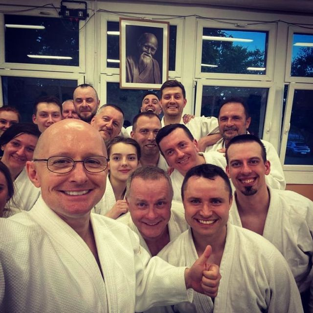 And finally a word became a training! After a soooo looong break we finally came back to the  tatami :). No ikkyo was forgotten, but only became a little bit rusty ;).  #neverstoplearning #shindojo #aikido #aikidoka #aikidoaikikai #aikidotraining #beautyofaikido #aikido_techiniques #aikidodojo #aikidolifestyle #aikidolife #martialarts #poznan #poznanmiastodoznan #budo #blackbelts