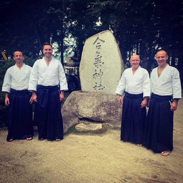 The Shin Dojo crew in the heart of aikido :-). We have the honor and priviledge to be a part of the 74th National Sports Festival in Iwama dojo. It's extremely fascinating to visit this magical place, follow the paths of O'Sensei and to contribute to tonight's embukai with other teams representing International Aikido Federation. So good to see old friends and to make new ones :-). #neverstoplearning #ShinDojoJapanTour